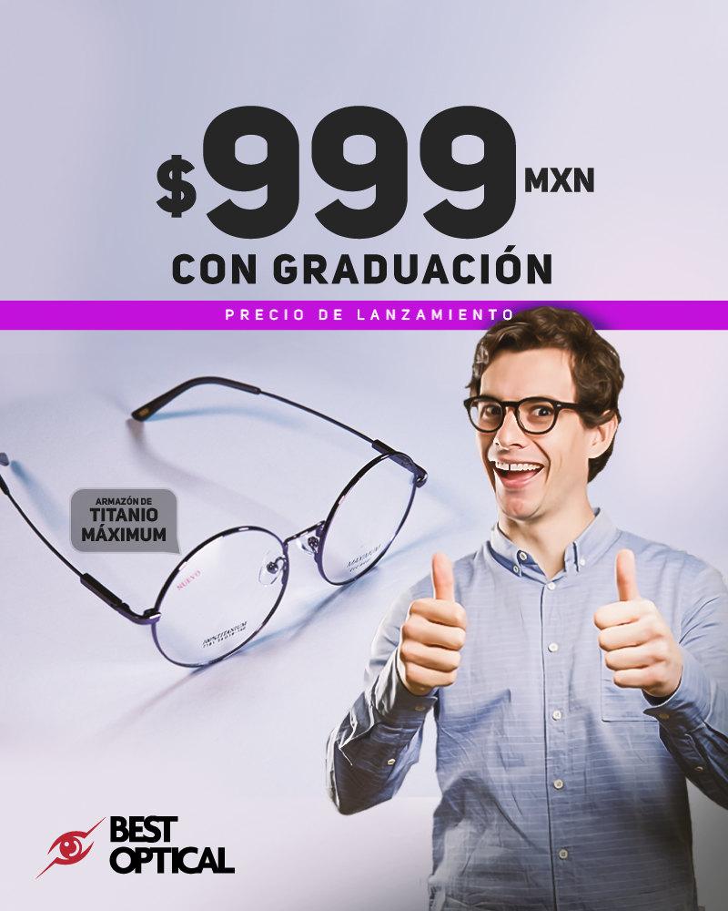 999 con graducación