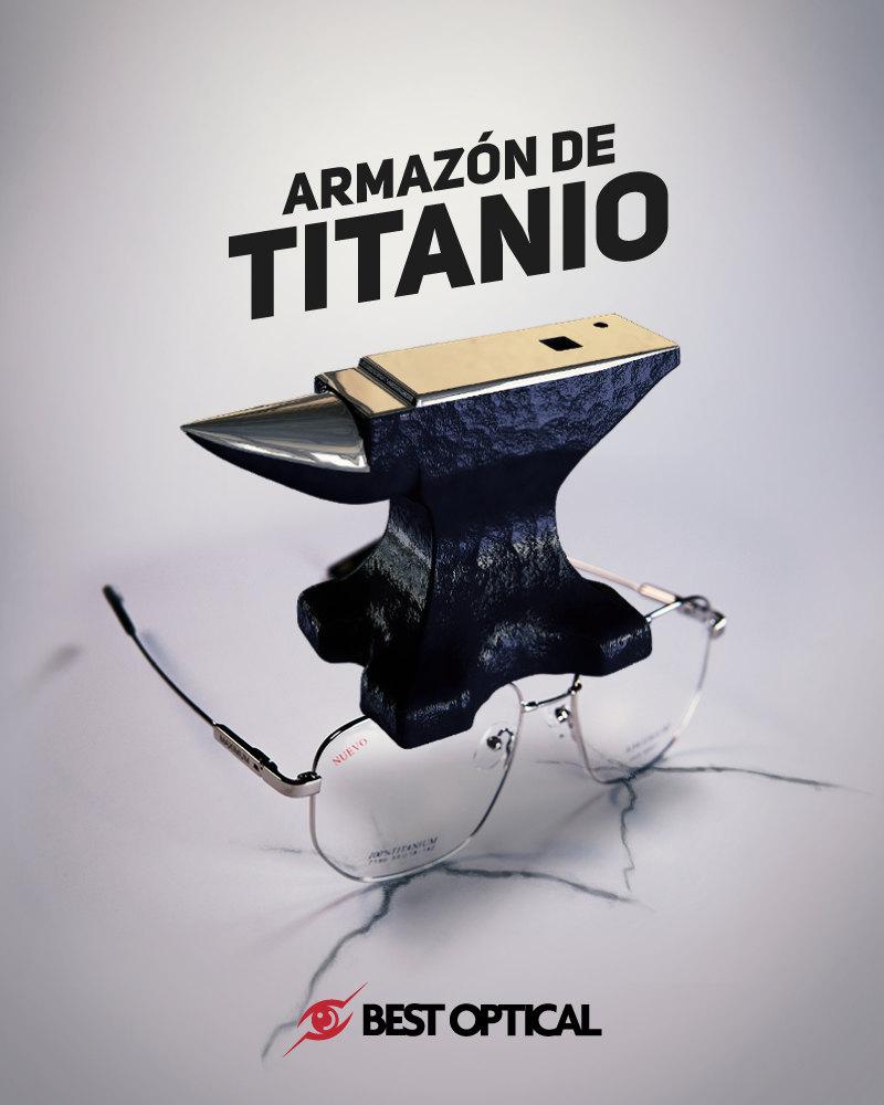 Armazón de Titanio